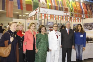 Their Royal Highnesses and H.E. Dr Toufic JABER