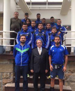 Rafik Hariri Uni Sports Team 1